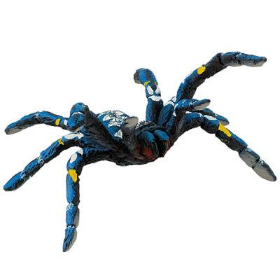 Kék tarantula játékfigura