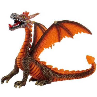 Narancssárga ülő sárkány játékfigura – Bullyland