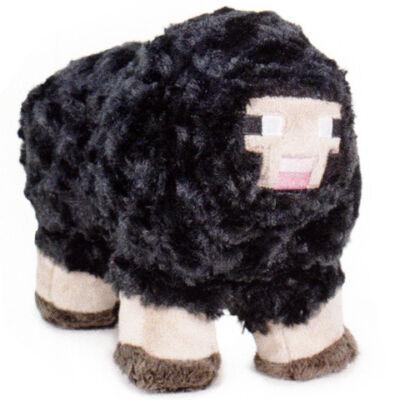 Minecraft: Fekete bárány plüss figura 25 cm