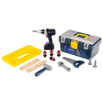 Bosch barkácskészlet szerszamosládában – Klein Toys