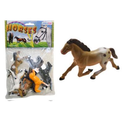 Ló figurák zacskóban 6 db-os