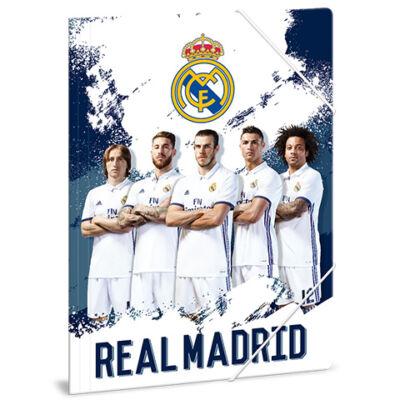 Real Madrid játékosok A/4-es gumis dosszié