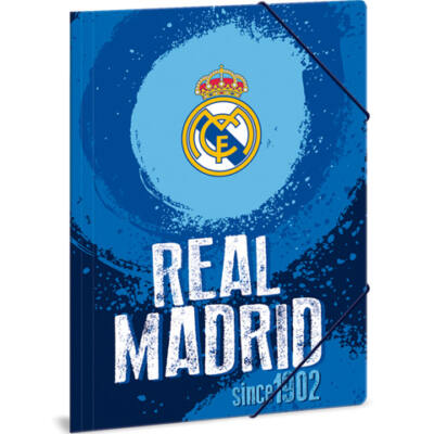 Real Madrid kék gumis dosszié A/4
