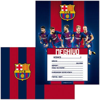 FC Barcelona partimeghívó borítékkal 10 db-os