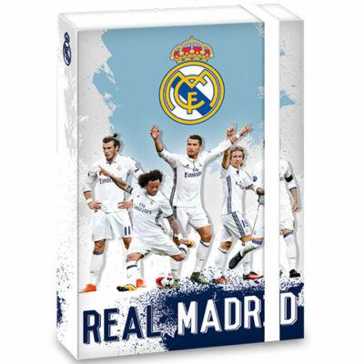 Real Madrid kék-fehér füzetbox A/5