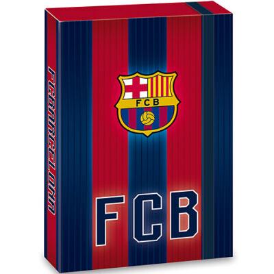 FC Barcelona gránátvörös-kék füzetbox A/5