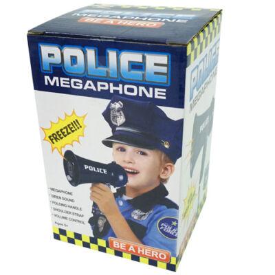 Rendőrségi megaphone 16 cm-es