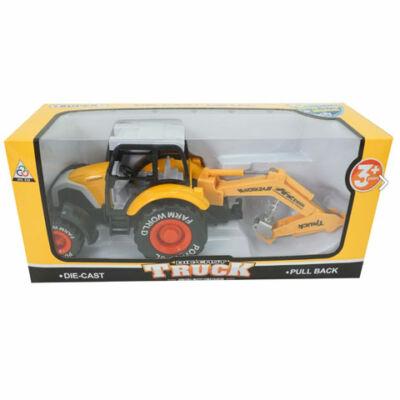 Traktor munkagépek többféle változatban 24 cm 1 db