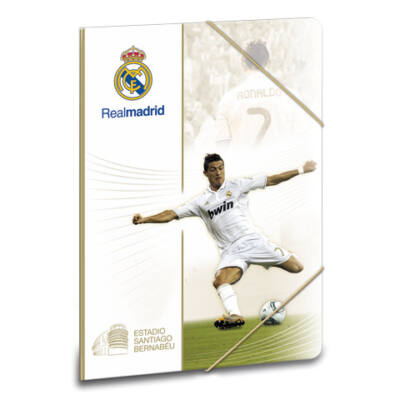 Real Madrid Cristiano Ronaldo gumis dosszié A/5 méretben