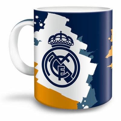 Real Madrid kék-sárga porcelán bögre 300ml