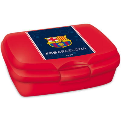 Barcelona vörös uzsonnás doboz