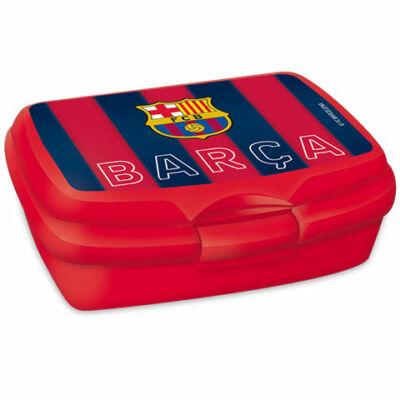 FC Barcelona piros uzsonnás doboz