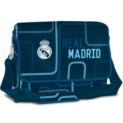 Real Madrid nagy oldaltáska kék színben