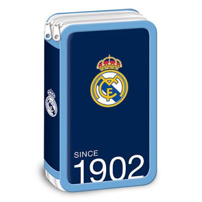 Real Madrid kék emeletes tolltartó