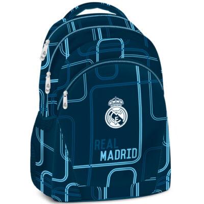 Real Madrid tinédzser hátizsák kék színben