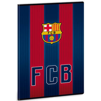 Barcelona vonalas füzet A/4 – címer