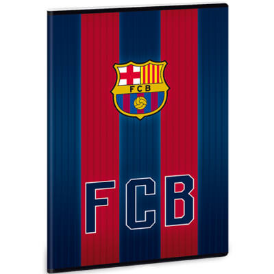 Barcelona négyzethálós füzet A/4 – címer