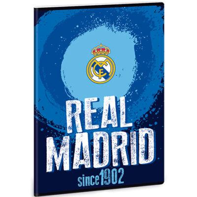 Real Madrid címeres négyzethálós füzet A/4 21–32