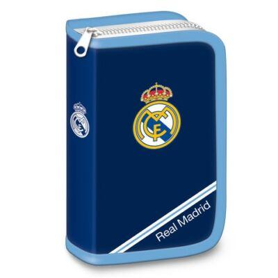Real Madrid töltött kék tolltartó