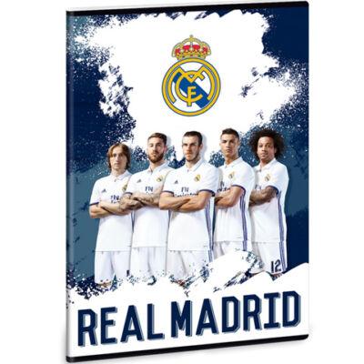 Real Madrid sima füzet A/5-ös méret