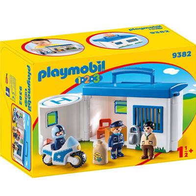 Playmobil: Hordozható rendőrség kicsiknek (9382)