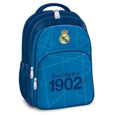 Real Madrid 3 rekeszes iskolatáska, hátizsák – Ars Una
