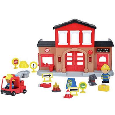 Playgo: Tűzoltóállomás fénnyel és hanggal