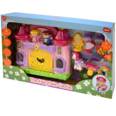 Playgo: Tündérmese kastély 11 darabos játékfigura készlet hanggal
