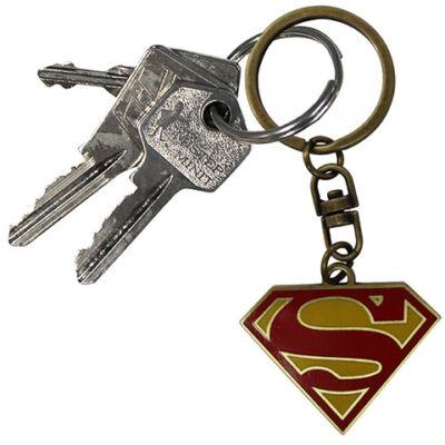 Superman logo kulcstartó