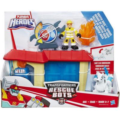 Playskool Heroes Transformers: Rescue Bots Griffin Rock garázs - Hasbro