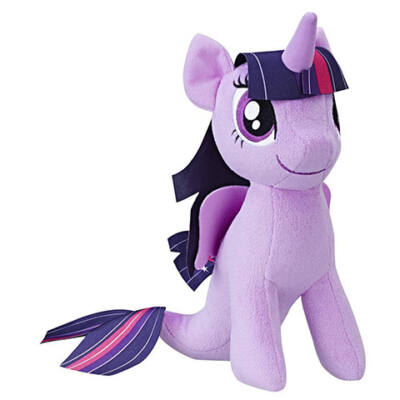 Én kicsi pónim: Twilight Sparkle sellőpóni plüssfigura – Hasbro