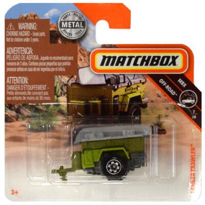 Matchbox: Off-Road Trailer 1/64 kisautó - Mattel