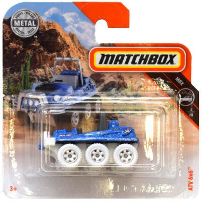 Matchbox: ATV 6×6 kék kisautó 1/64 – Mattel