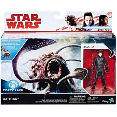 Star Wars: Deluxe Bala Tik és Rathtar Force Link figura - Hasbro