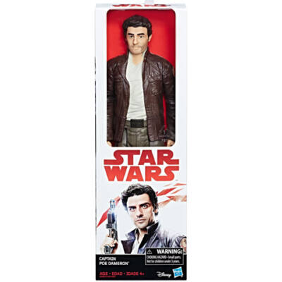 Star Wars - Az utolsó Jedik: Hero Series Captain Poe Dameron figura - Hasbro
