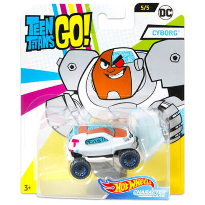Hot Wheels – Teen Titans Go: Cyborg kisautó – Mattel