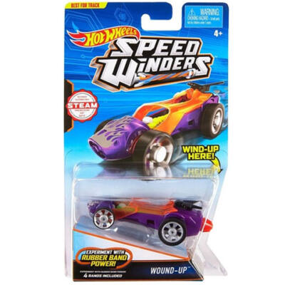 Hot Wheels: Speed Winders Wound-Up járgány - Mattel