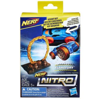 Nerf Nitro: Flamefury kaszkadőr szivacs kisautó - Hasbro