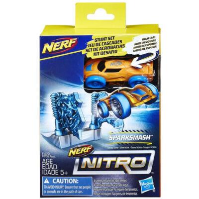 Nerf Nitro: Sparksmash kaszkadőr szivacs kisautó - Hasbro