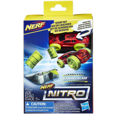 Nerf Nitro: Barrelslam kaszkadőr szivacs kisautó - Hasbro