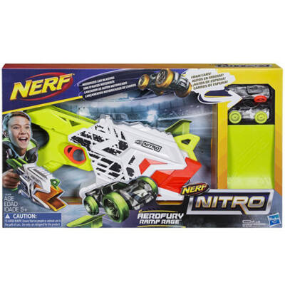 Nerf Nitro Aerofury Ramp Rage kisautó kilövő fegyver - Hasbro