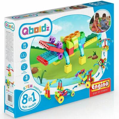 Engino: Qboidz Aligátor 8 az 1-ben építőjáték szett