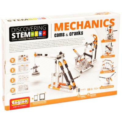 Engino - Mechanics: Bütykök és daruk építőjáték