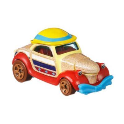 Hot Wheels Disney: Pinokkió kisautó 1/64 – Mattel