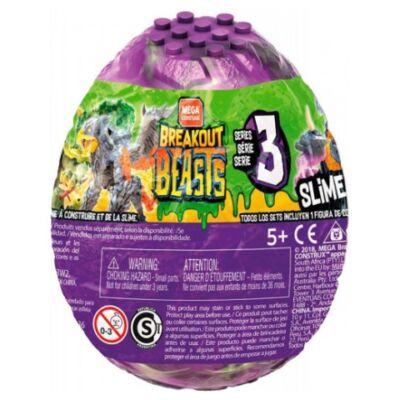 Mega Construx Breakout Beast slime meglepetés tojás – Mattel
