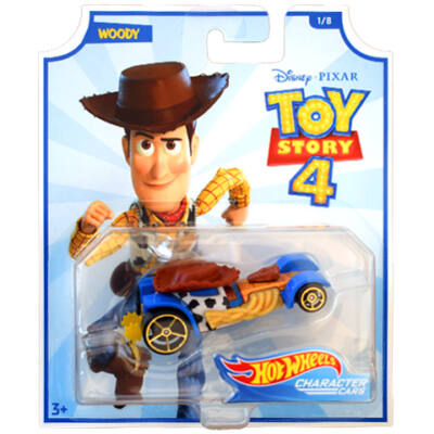 Hot Wheels Toy Story 4: Woody kisautó 1/64 – Mattel
