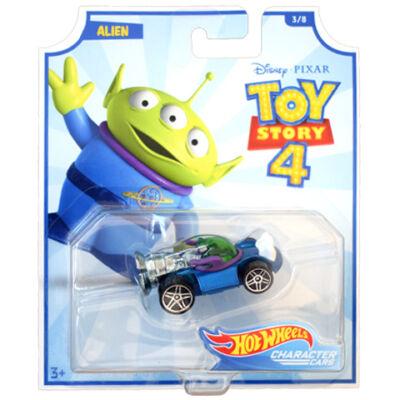 Hot Wheels Toy Story 4: Űrlény kisautó 1/64 – Mattel