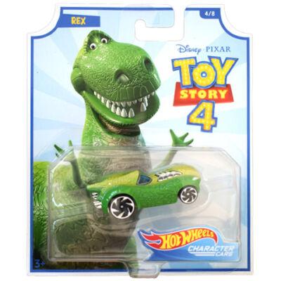 Hot Wheels Toy Story 4: Rex kisautó 1/64 – Mattel
