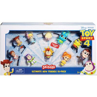 Toy Story 4: minifigura szett 10 db-os csomag – Mattel