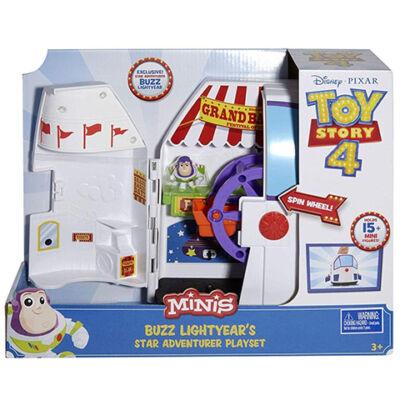 Toy Story 4: Buzz Lightyear űrhajója játékszett – Mattel